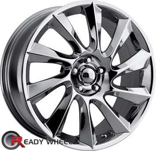 HELO He840 Chrome Multi-Spoke 17 inch
