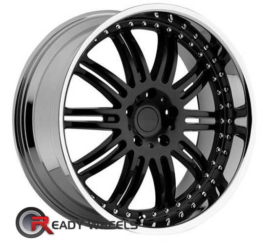 KMC Km127 Black Gloss Multi-Spoke 18 inch
