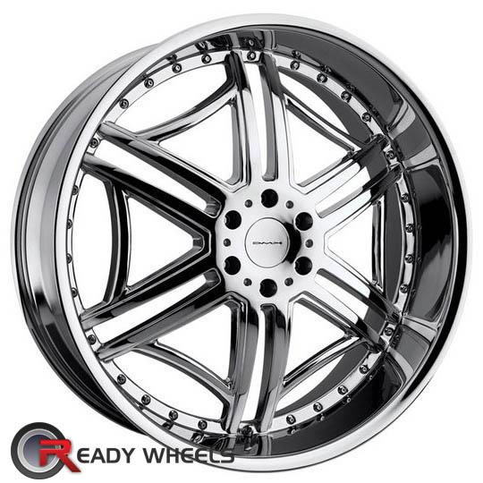 KMC Km657 Chrome 6-Spoke 20 inch