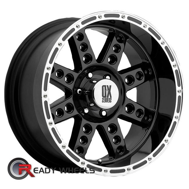 KMC XD Xd766 Black Gloss 8-Spoke 17 inch
