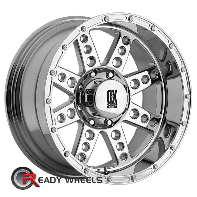 KMC XD Xd766 Chrome 8-Spoke 17 inch