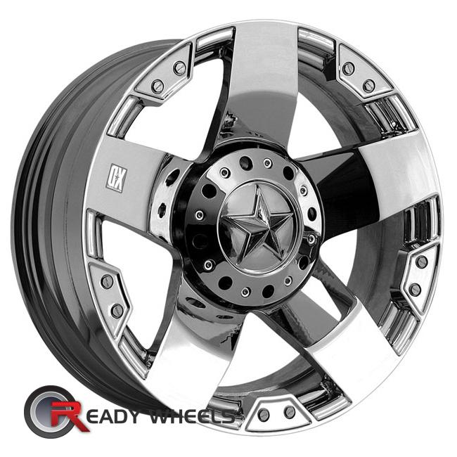 kmc xd xd775 chrome 5 spoke 20 inch wheel and tire packages rims tires. Black Bedroom Furniture Sets. Home Design Ideas