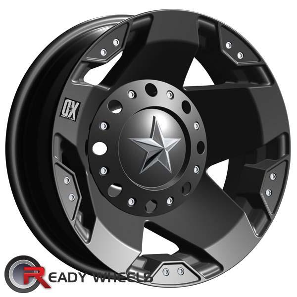 KMC XD Xd775 (Dually) Black Flat 5-Spoke 16 inch