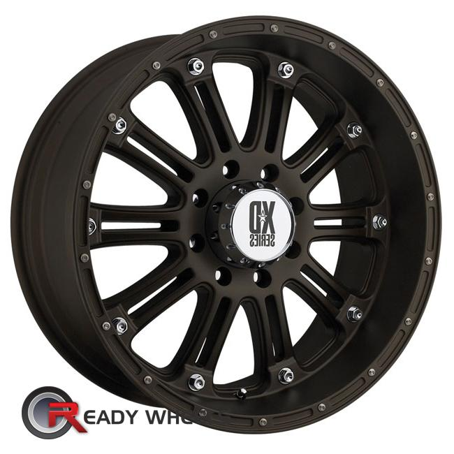kmc xd xd795 bronze flat multi spoke 18 inch wheel and tire packages rims tires. Black Bedroom Furniture Sets. Home Design Ideas