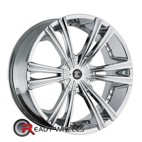 II Crave No12 Chrome 6-Spoke Split 22 inch