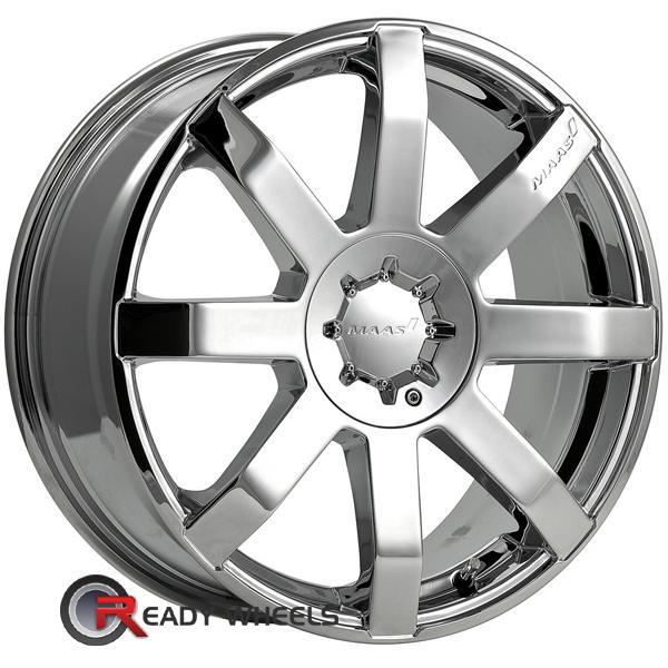 MAAS M29 Chrome 8-Spoke 20 inch Wheels   Rims   Tires