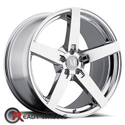 MANDRUS ARROW Chrome 5-Spoke 17 inch