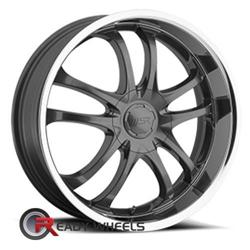 MSR 85 Grey 5-Spoke Split 20 inch + Delinte D7 245/35/20