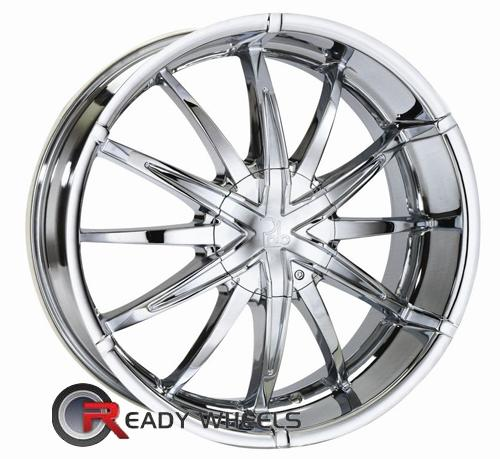 Polo Hyperion T931 Chrome Multi-Spoke 20 inch