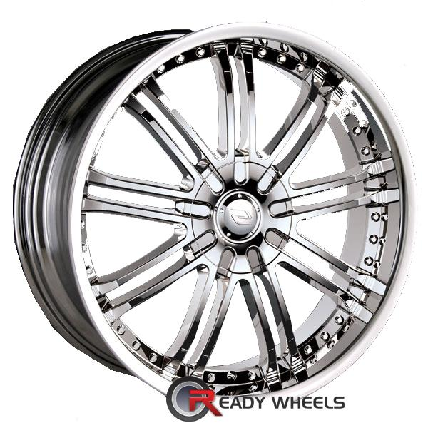sacchi s95 chrome multi spoke 18 inch wheel and tire packages rims tires. Black Bedroom Furniture Sets. Home Design Ideas