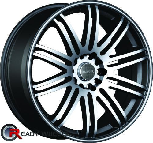 tenzo tenspec multi spoke 17 inch wheel and tire packages rims tires. Black Bedroom Furniture Sets. Home Design Ideas