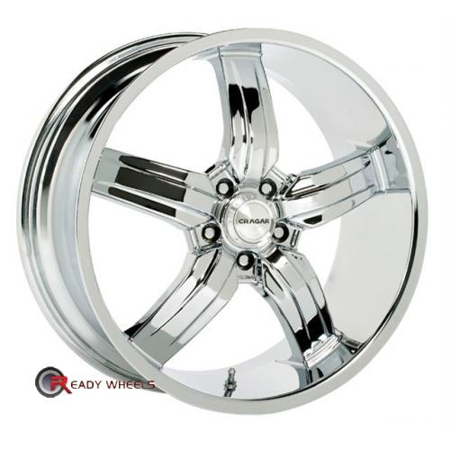 CRAGAR 701C Chrome 5-Spoke 20 5x114
