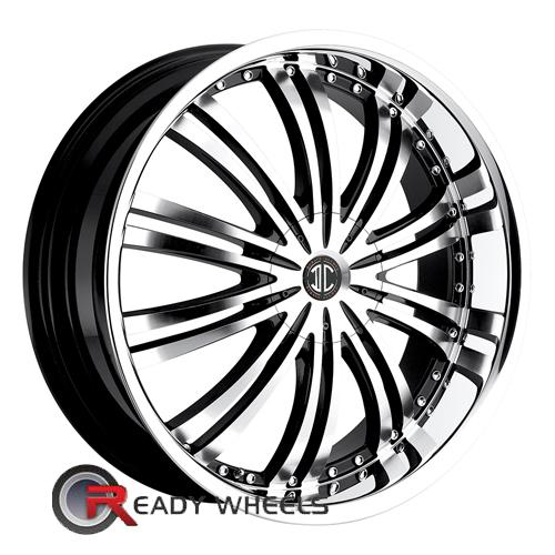 II Crave No01 Machined W/Chrome Lip Multi-Spoke 18 4x100