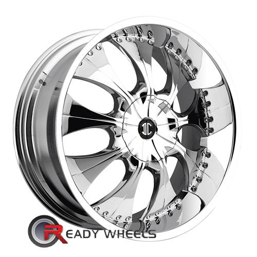 II Crave No03 Chrome Full-Face 22 5x114