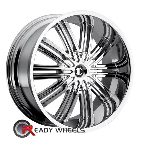 II Crave No07 Chrome Multi-Spoke 20 5x114 + Delinte D7 245/35/20
