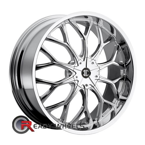 II Crave No09 Chrome Mesh / Web 20 4x100