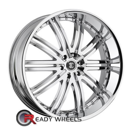 II Crave No11 Chrome Multi-Spoke 22 5x114 + Achilles Desert Hawk 265/35/22