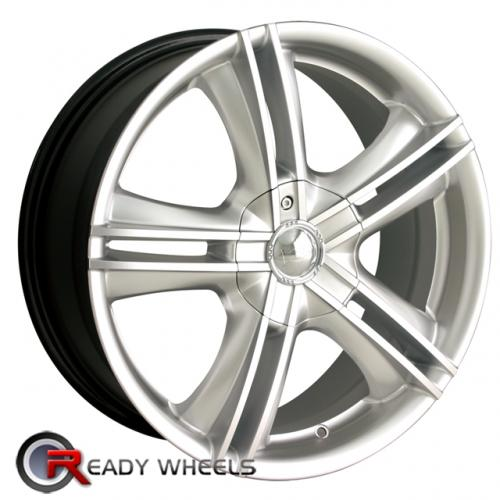 ION 161 Hypersilver 5-Spoke Split 15 4x100