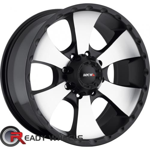 MKW M19 Black Machined Off-Road 17 5x127