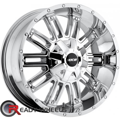 MKW M80 Chrome Off-Road 17 5x114