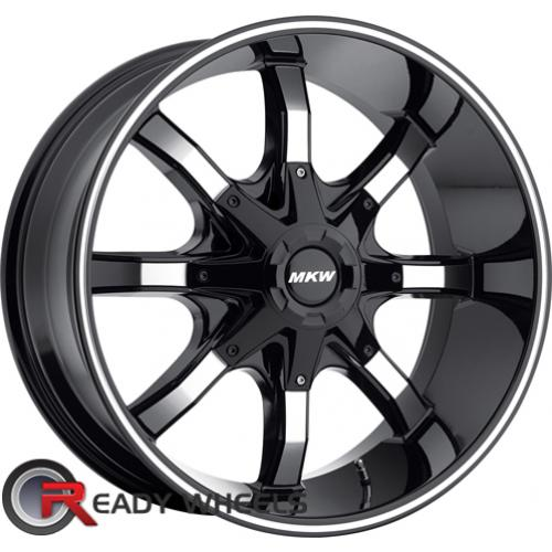 MKW M81 Black Off-Road 16 5x114