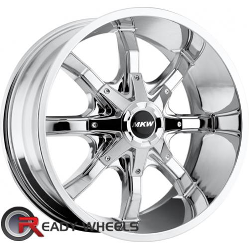 MKW M81 Chrome Off-Road 16 5x114