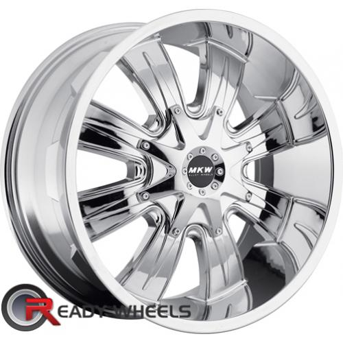MKW M82 Chrome Off-Road 17 8x165