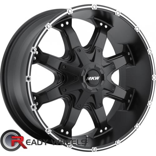 MKW M83 Black Off-Road 16 5x114