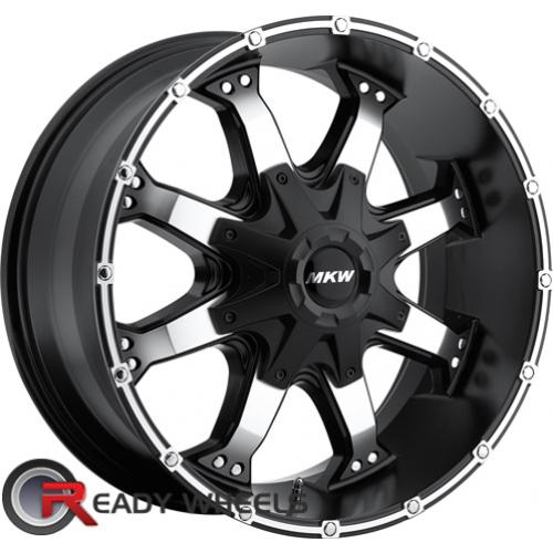 MKW M83 Black Machined Off-Road 16 5x114