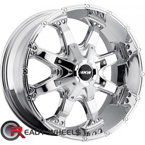 MKW M83 Chrome Off-Road 17 5x127 + Sunny SN380 205/40/17