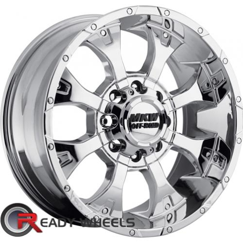 MKW M85 Chrome Off-Road 16 5x114