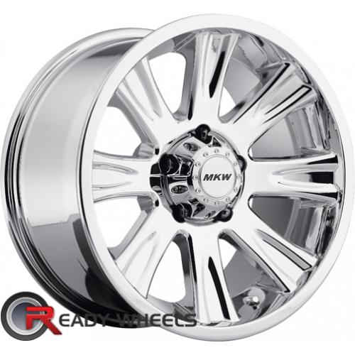 MKW M87Chrome Off-Road 17 5x114