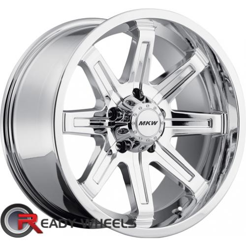 MKW M88 Chrome Off-Road 17 5x127 + Sunny SN380 205/40/17