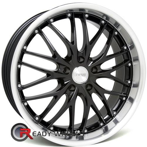MRR Design GT1 Gloss Black Mesh / Web 18 5x100