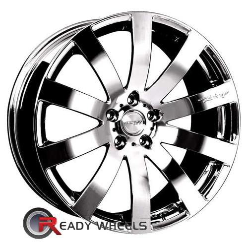 MRR Design HR4 Chrome Multi-Spoke 19 5x112 + Achilles ATR Sport 225/35/19