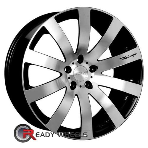 MRR Design HR4 Machined w/Black Multi-Spoke 19 5x112