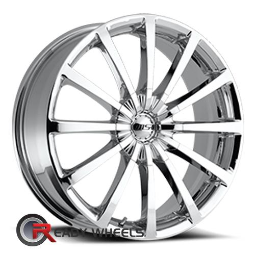 MSR 042 Chrome multi-Spoke 20 5x100