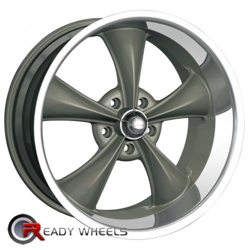 RIDLER 695 Grey 5-Spoke 20x10 - 5x114 Wheels - Rims