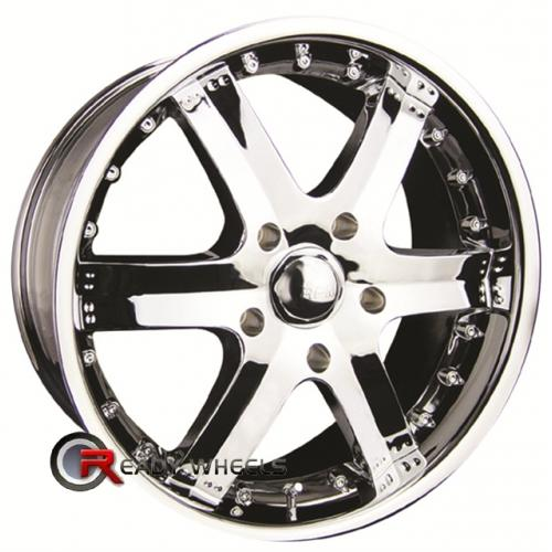 RPM M-513 Chrome 6-Spoke 20x9 - 6x139 Wheels - Rims