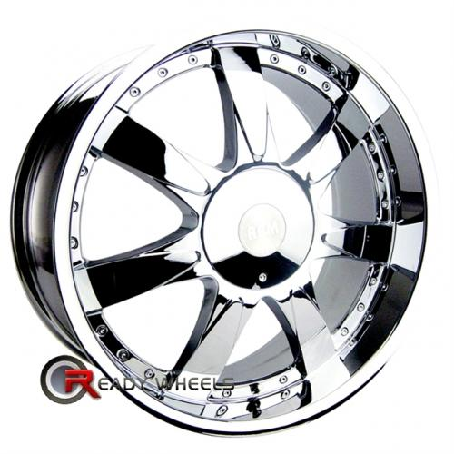 RPM M-514 Chrome 7-Spoke 20x8.5 - 6x139 Wheels - Rims