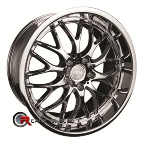 RPM R-505 Chrome Mesh / Web 17x7.5 - 5x114 Wheels - Rims + Sunny SN380 205/40/17