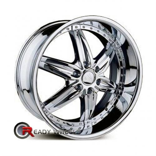 VELOCITY V350 Chrome 6-Spoke 20 6x139