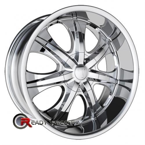 VELOCITY V725 Chrome 7-Spoke 20 6x139