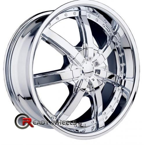 VELOCITY VW450 Chrome 7-Spoke 20 5x120