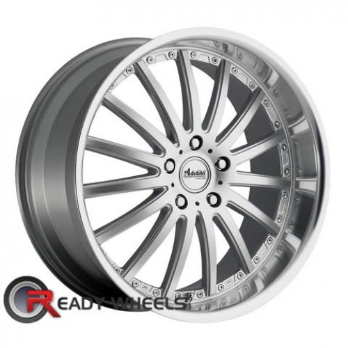 ADVANTI A8 AFOSO Silver Gloss Multi-Spoke 32 18 5x112