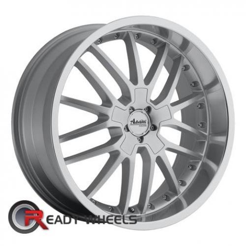ADVANTI A5 LIGERO Silver Gloss 40 18 5x114 + Delinte D7 225/40/18