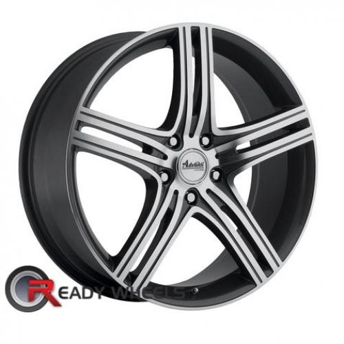 ADVANTI A1 REV Machined w/ Gunmetal 5-Spoke 40 17 5x100