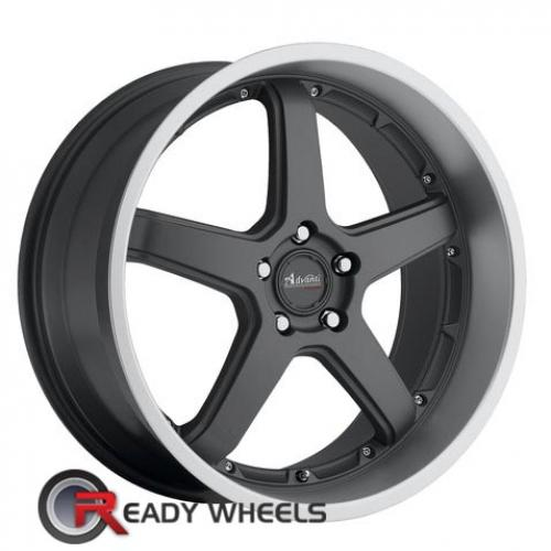 ADVANTI A2 TRAKTION Gunmetal Flat 5-Spoke 25 18 5x114