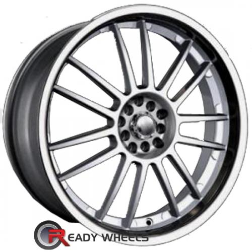AKITA AK 25 Hypersilver 7-Spoke Split 40 17 4x100