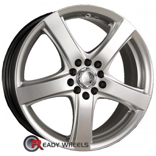 AKITA AK 7 Hypersilver 5-Spoke 43 16 4x100 + Nankang NS-1 205/45/16 ALL-SEASON